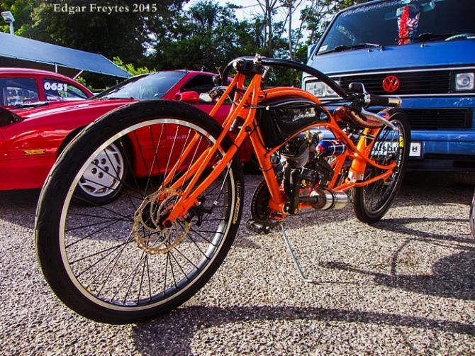 Motocleta de Jose H. Ortiz